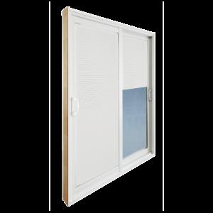 Patio Door with Blinds